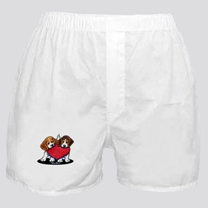 Beagle Heartfelt Duo Boxer Shorts